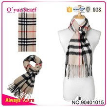 100% Wool Long Fashion Mens Striped Cape Shawl