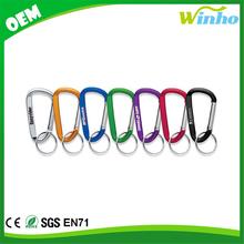 Winho Carabiner Key Chain With Split Ring