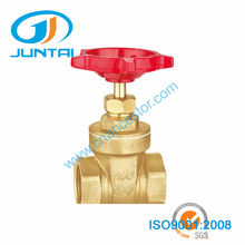 "Forged 3/4"" female brass gate valve"