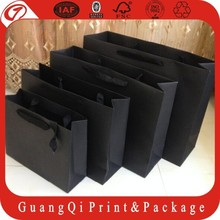 High quality custom printed paper shopping bag&shopping paper carrier bag wholesale