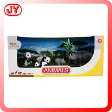 Non- toksik plastik orman hayvan satılık oyuncaklar