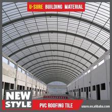 roofing of farm galss fiber wavy glass tile