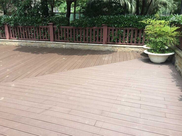 140 25mm cheap composite decking material buy cheap for Cheap composite decking