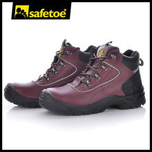 Ladies steel toe safety shoes with heel M-8307