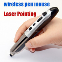 2.4GHz Wireless Pen Mouse with Laser Pointing and stylus functions for PC Android Laptop Accessories
