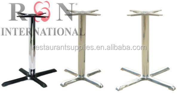 Restaurant Furniture Stainless Steel Table Base Height Adjustable - Adjustable table bases for restaurants