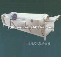 Drum-Type Bubble Washing Machine/Cleaning Machine for Fruits and Vegetables