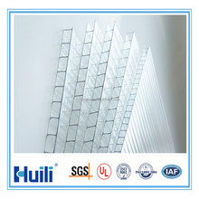 cheap clear 6mm twin-wall polycarbonate sheet for greenhouse sheet