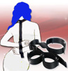 Leather Fetish Slave Bondage 7 piece Set Whip Rope,Handcuffs sex toy HOT in USA australian !!!
