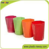Eco-Friendly PP living room use eco-friendly decorative waste paper bins