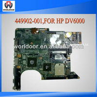 Wholesale 449902-001 for hp dv6000 motherboard amd 100%working