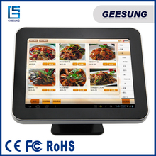 """Fanless Pos Machine/Pos System with Credit Card Swiper/12"""" Pos Terminal"""