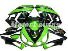 For kawasaki ZX-14R ZZ-R1400 06-09 body fairings kit/motorcycle racing fairing/bodywork