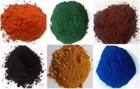Purity iron 95% powder synthetic colour oxides red brown black yellow pigments 313 920