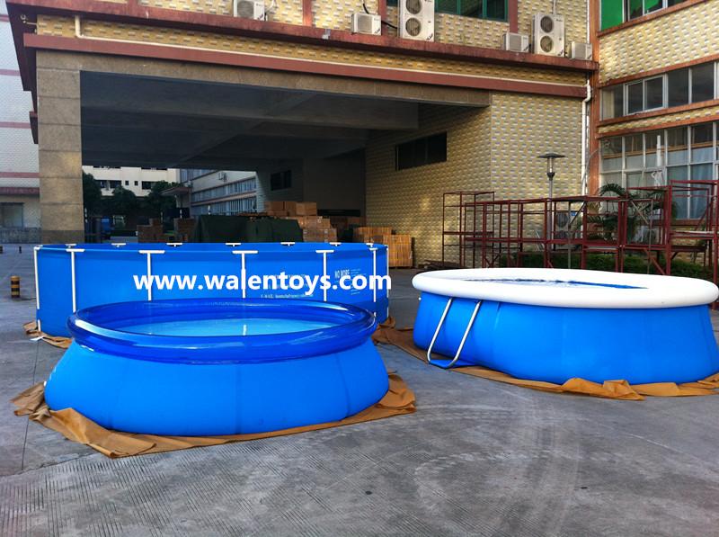 Piscinas de pl stico piscina pvc rodada retangular for Piscinas desmontables de pvc