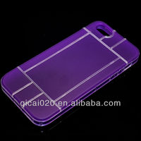 TPU Case with labyrinth PC For Apple Iphone 5G