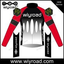 Oem y equipo profesional de ciclismo camisas térmicas / ciclismo de manga larga ropa / pro cycling team jersey largo