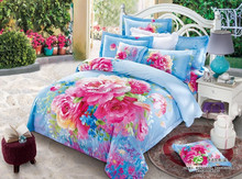 High Quality 100%Cotton Printed Bedding Sets