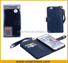Case For iphone 6, PU leather flip case for iPhone 6 with wallet card
