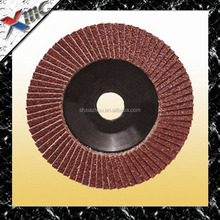 """T27 7"""" grit 40-120# quality flower shape abrasive flap disc for polishing stainless steel"""