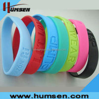 Colorful silicone allergy bracelet