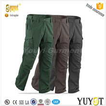 men's canvas multi-pocket work pants