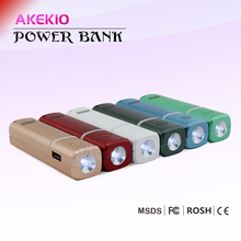 Akekio famous brand wholesale 2600mah manual for power bank usb
