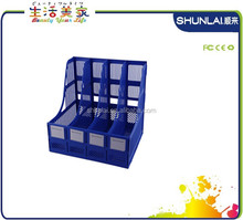 Plastic File Holder With Office- Deep blue
