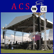 2015 hot selling mobile outdoor event stage for sale,concert stage