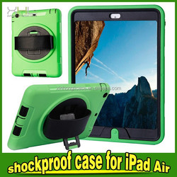 shockproof case cover for ipad air, shockproof case for ipad 5