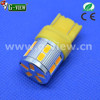 Superbright non-polarity Amber car led ,t20 led auto bulb ,car led bulb 7440