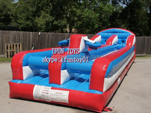 inflatable bungee run game / inflatable bungee baskrtball / air bungee basketball hire