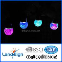 2015 Hot Sale decorative lighting High Quality solar outside lamp XLTD-210 Series mosaic glass ball