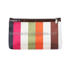 Fashion Dot Stripped Women Bags Beautiful Cosmetic Bag Cases for Women Multi Color Mirror Women Cosmetic Bags
