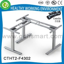 Mahina electric liftable mechanism height adjuster desk in China & electric height adjustable desk Dongguan produce