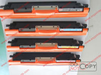 Available CE310A CE311A CE312A CE313A Original color toner cartridges for HP 126A Made in China