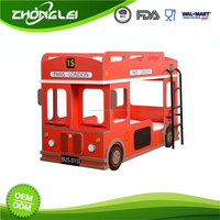Latest Design SGS Promotional Price Kids Double Deck Bed