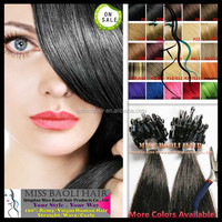 Ali Trade Assurance Paypal Accepted Factory Price Soft Smooth Temple Indian Remy Hair 1g Hair Extension Micro Beads