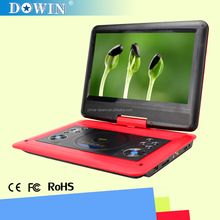 """11.6 """" cheap 3d portable dvd player with movie/ video/game for family & kids"""