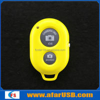 Hot New Hot Wireless Bluetooth Camera Remote Shutter for iOS iPhone 5 5s Android Galaxy S4 S5 HTC