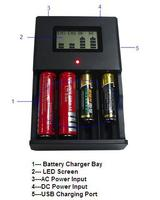 rechargeable external battery charger mobile phone/lithium polymer battery charger with USB port