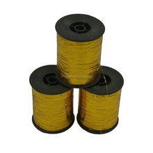 Promotion lurex yarn, embroidery thread,GOLD M type metallic yarn