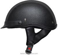 MANUFACTURE BLACK NEW HALF FACE HELMET motorcycle harley TN8689 as1698 helmet