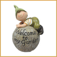 costume handmade resin elf fairy statues garden decorative