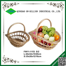 Cheap bulk woven gift wicker basket for sale