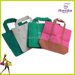 cheap non-woven shopping bag with many colors