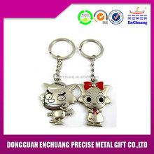 Modern new products zinc alloy die cast metal keychain