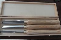 3PCS HSS Wood Turning Tools Set, Wood Turning Chisel Set, Wooden Chisel