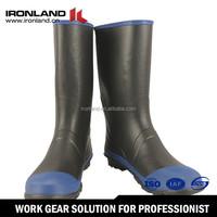 New product rubber mid-heel girls rain boots