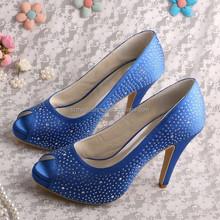 (15 Colors) Blue Evening Shoes for Women